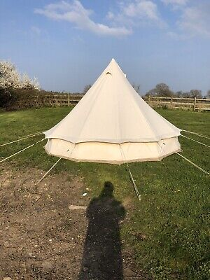 Ex Hire 5m Bell Tent