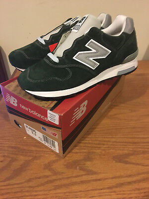 New Balance J Crew 1400 MG Pine Green Size 9.5 Made In USA New