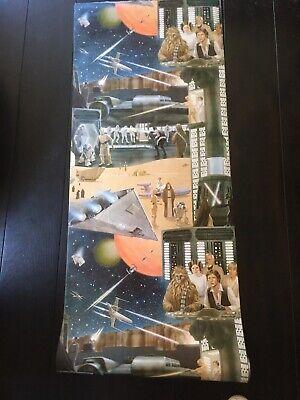 Rare Star Wars Vintage 1978 Wallpaper Complete Roll
