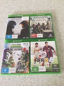 GENUINE BULK XBOX ONE GAMES IN EXCELLENT CONDITION . Rowville Knox Area Preview