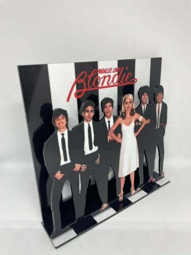 "Blondie Parallel lines 3D display 8"" standee vinyl holder (figure, statue)"
