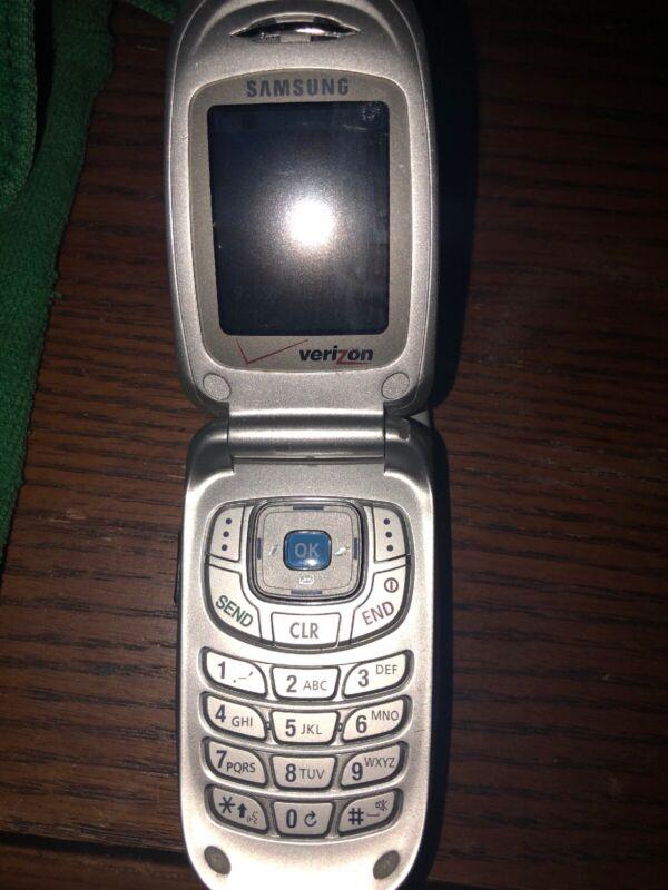 Samsung model SCH-A650 Verizon flip phone cell