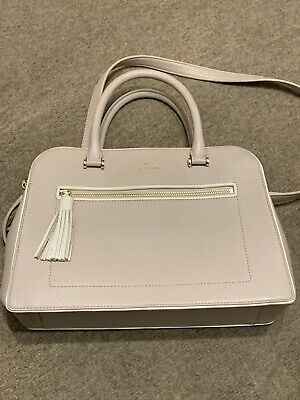 Exc Cond Hardly Used Kate Spade New York Nude Pink & Cream Bag Medium / Large