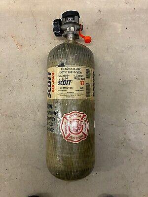 Scott 3000psi 30min Oxygen Scba Air Pak Bottle Cylinder Tank W Valve