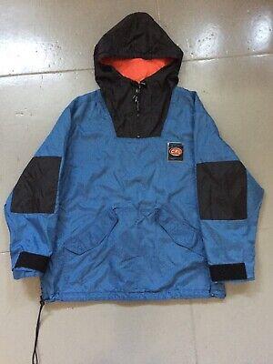 Vintage 90s Ralph Lauren Chaps Pullover Anorak Jacket Spell Out Color block XL