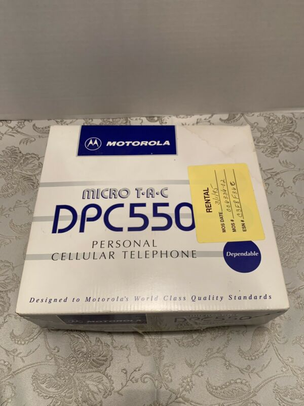 Vintage Motorola Personal Telephone