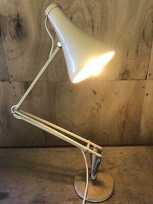 Vintage Workshop Anglepoise Lamp with Heavy Cast Base 90cm