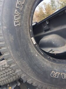 For sale1.  P265/75R16