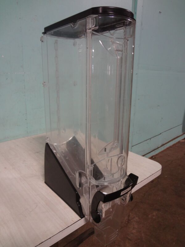 "ONE UNIT OF ""TRADE FIXTURES"" ACRYLIC COFFEE BEAN/CANDY/GRAIN DISPLAY DISPENSER"