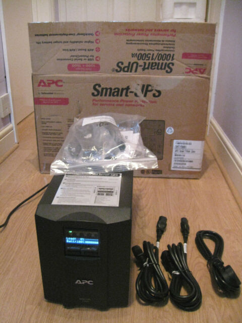 BRAND NEW APC SMART-UPS SMT 1500 VA SMT 1500i TOWER UPS  WITH EXTRA CABLES 539