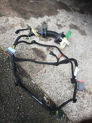 2008 Peugeot 207 3 Door Drivers Front Door Wiring Loom Harness 9686849780