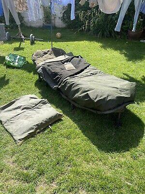 JRC SPECIALIST 3 BED CHAIR CARP FISHING TRAKKER BIG SNOOZE SLEEPING BAG & FOX FX