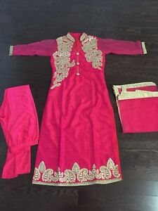 Brand new! Indian suit-gotta patti party wear suit - pajami suit