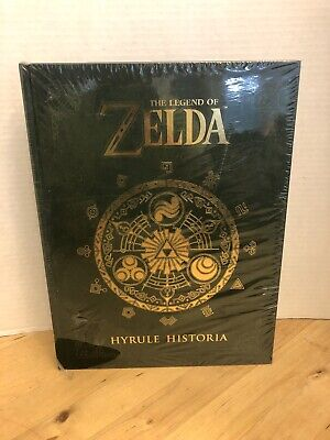 The Legend of Zelda: Hyrule Historia [New Book] Hardcover Read See Pics