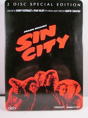 Sin City - 2 Disc Special Edition - Steel Case - Mickey Rourke - Clive Owen