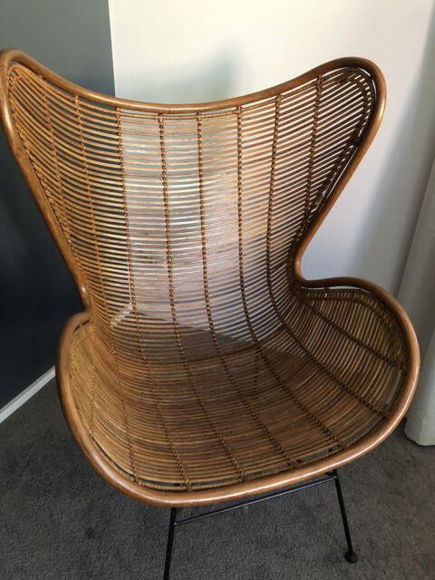 Designer Rattan Egg Chair Hk Living Armchairs Gumtree Australia Sutherland Area Dolans Bay 1245719342