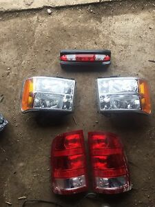 Lights out of a 2008 gmc duramax