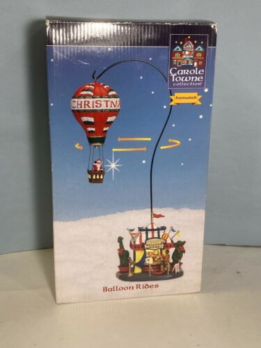 Lemax Sky High Balloon Rides with Santa - Carole Towne Collection Item #036796