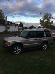 2001 LAND ROVER DISCOVERY $1000/TRADE FOR SLED