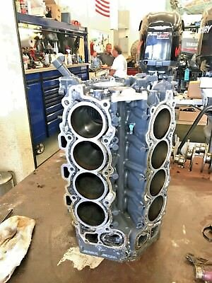 USED YAMAHA OUTBOARD F350 TXR BARE BLOCK, P/N: 6AW-15100-02-9S