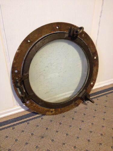 Bullauge Nautik Spiegel Maritim Schiff Nautika 20 cm Messing rund