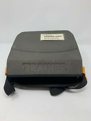 Lifepak 500t Aed Training System Soft Shell Carrying Case - Used