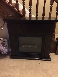 Small apartment size fireplace