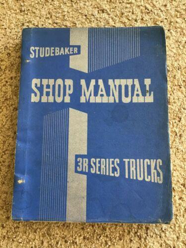 1954  Studebaker  3-R series trucks original shop manual.
