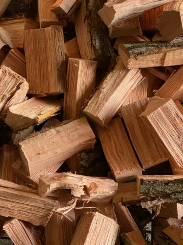 Oak Wood Chunks for Smoking BBQ Grilling Cooking Smoker FREE Shipping 10 + LBS