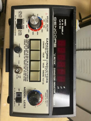 Sencore LC53 Z Meter Electronics Capacitor Inductor Analyzer