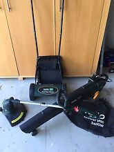 Gardening set, mower, leaf blower & trimmer/edger Seaforth Manly Area Preview