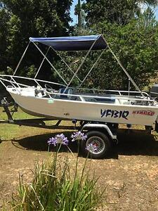 Stacer Kipper 3.8m Tinnie, 30hp Elimbah Caboolture Area Preview