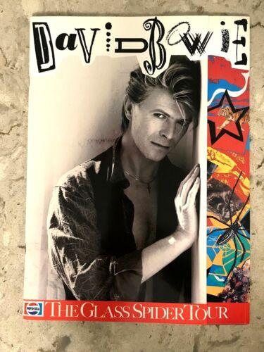 DAVID BOWIE  - 1987 THE GLASS SPIDER TOUR BOOK, **MINT**