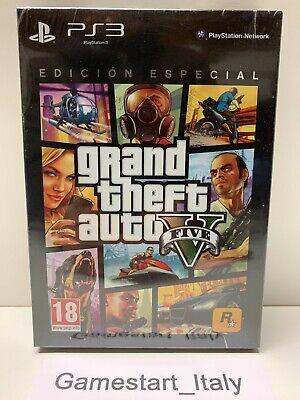 GRAND THEFT AUTO V EDITION ESPECIAL GTA 5 SONY PS3 - NUOVO...