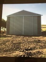 Pole sheds to be built