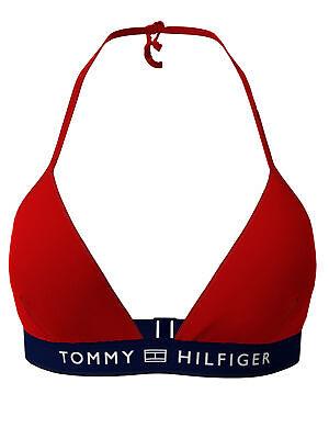 Tommy Hilfiger Damen Bikini Triangle Fixed Gr. M Rot UW0UW02708-XLG