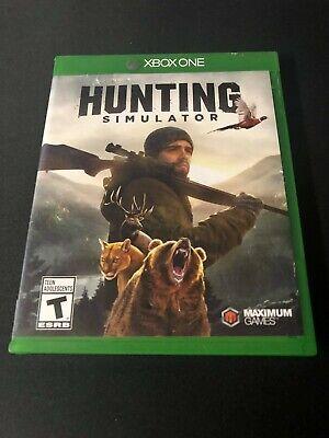 Hunting Simulator (Microsoft Xbox One, 2017) Missing Manuals!