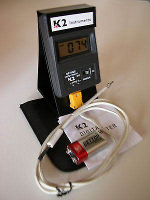 Digital Pyrometer-Glass Fusing, Annealing, Ceramics F