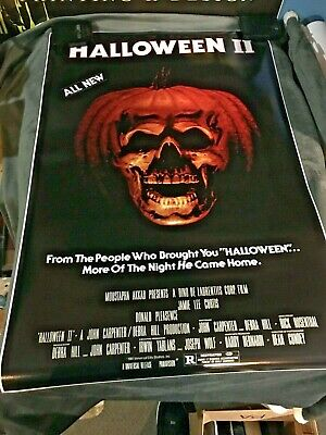 Halloween 2 1981 Movie (HALLOWEEN 2 Movie POSTER 24x36 1981 Michael Myers)