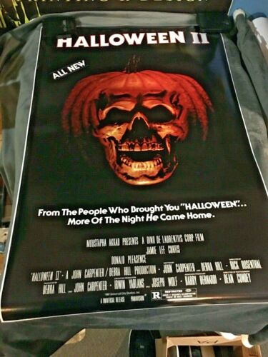 HALLOWEEN 2 Movie POSTER 24x36 1981 Michael Myers Horror