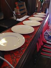 Alfred Meakin dinner plates Farrer Woden Valley Preview