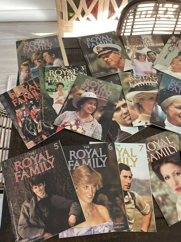 The Royal Family 16 Magazines Orbis Publication 1984