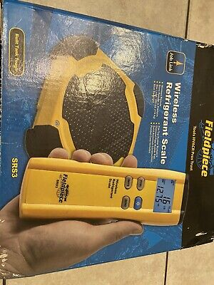 Fieldpiece Srs3 Wireless Refrigerant Scale With Remote