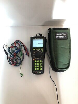 Sidekick Plus Greenlee Advanced Cable Test Set With Impulse Noise Step Tdr