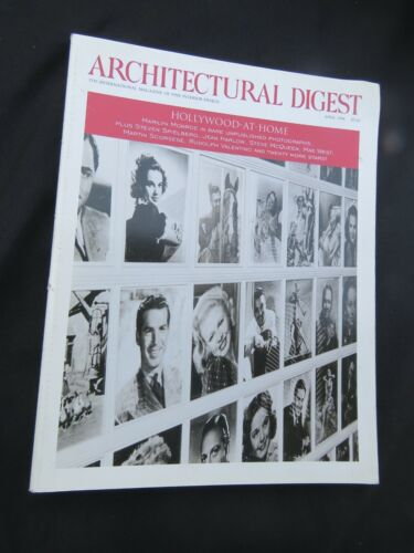 Architectural Digest Hollywood At Home April 1994