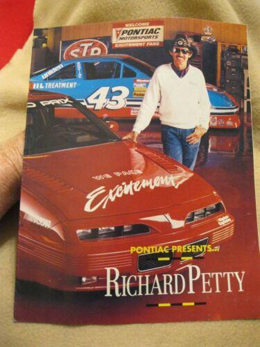 1992 Richard Petty Pontiac Grand Prix Edition Brochure-SCARCE!