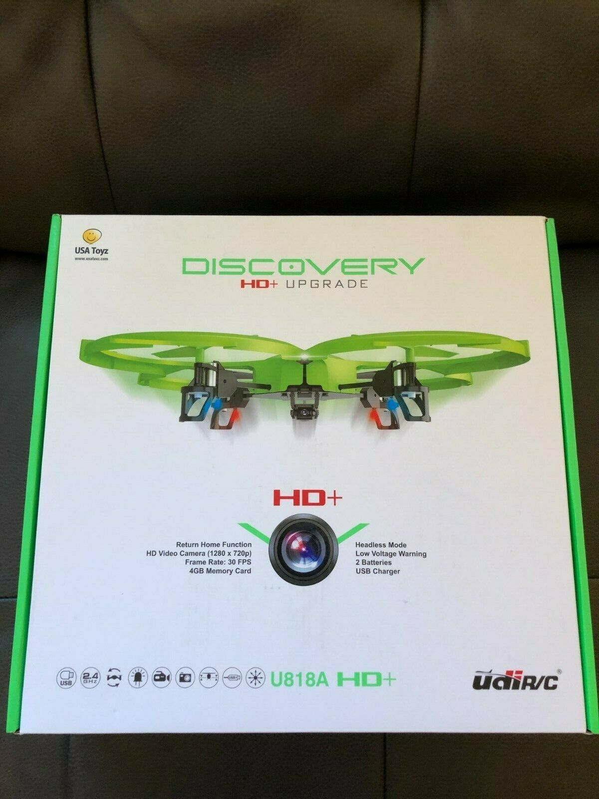 Latest UDI 818A HD RC Quadcopter Drone with HD Camera, Retur