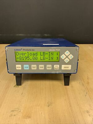 Lebow 7541 Strain Gage Conditioner Indicator Display