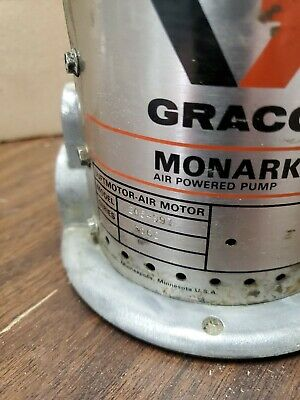 Graco 205-997 Air Motor For High-flo President Air-powered Spray Paint Pump