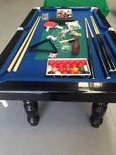 7x4FT -1 PIECE SLATE-NOT 3 PEICE-PROBLEM FREE POOL TABLE -SALE Penrith Penrith Area Preview
